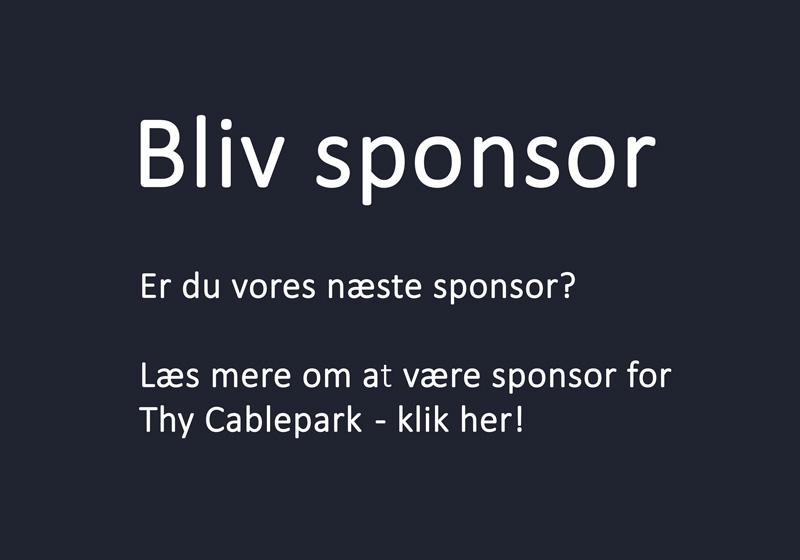 Sponsorat for Thy Cablepark